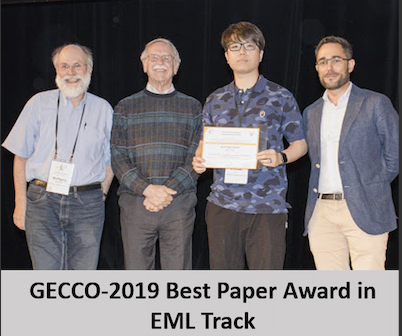 NSGA-Net best paper award